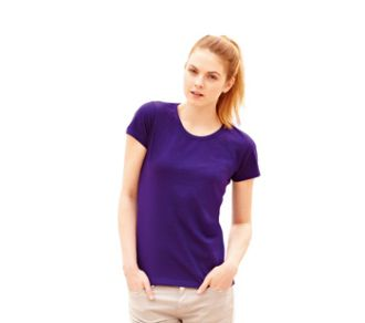 Fruit of the Loom T-shirt Lady-Fit Valueweight T