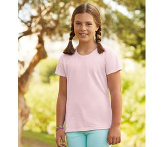 T-shirt Fruit of the Loom Sofspun T Girls