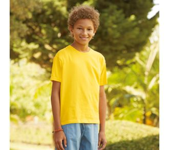 T-shirt Fruit of the Loom Sofspun T Kids