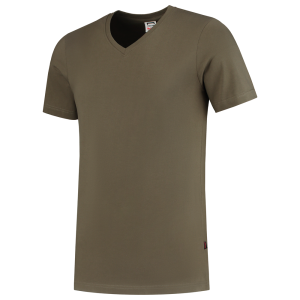 Tricorp Fitted 101005 heren T-shirt V-Hals
